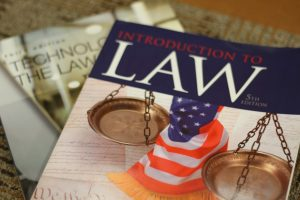 A photo of Law Textbooks
