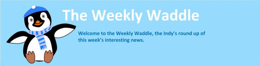Welcome to the weekly waddle, Clarks roundup of weekly news