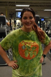 Michelle Lowery said that she's glad she's making her health a priority and even though the workouts are hard and they hurt, she feels like she'll get to where she wants to work out. (Theresa Matthiesen/The Indy)