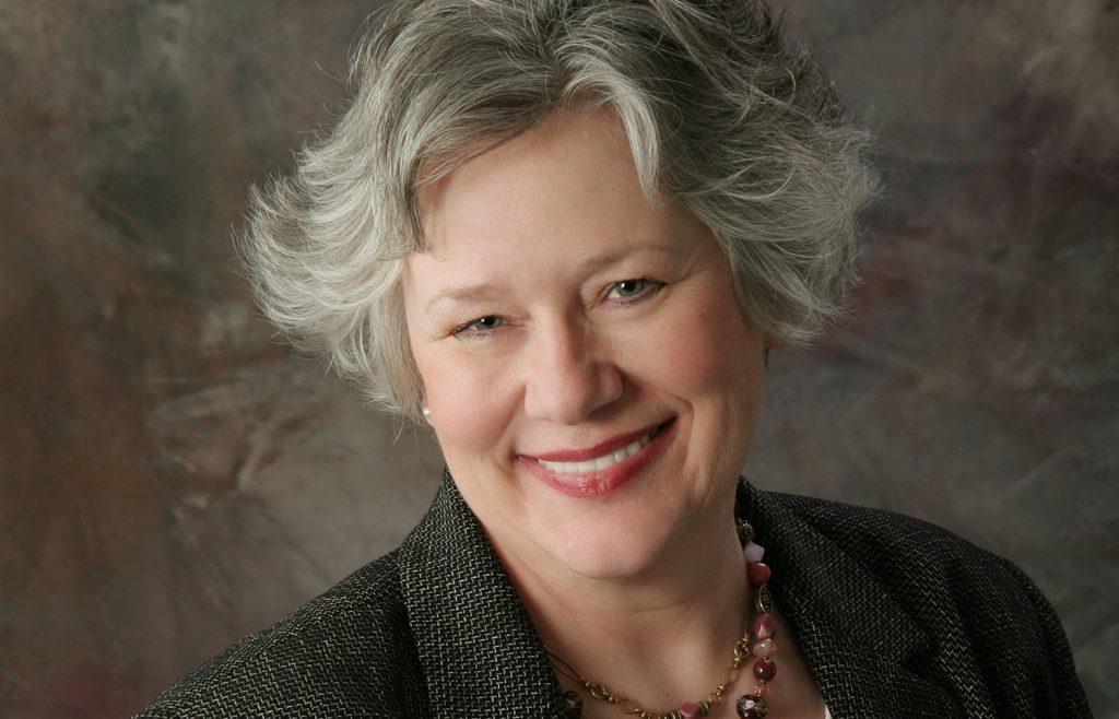 Interin president Sandra Fowler-Hill